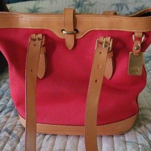 Dooney and Bourke cabriolet bucket bag